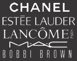 Make up brands - Chanel, Estee Lauder, Lancome, MAC, Bobbi Brown